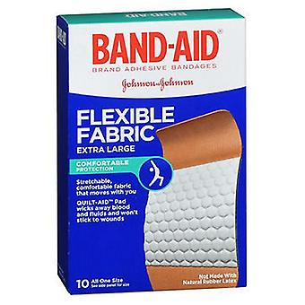 Band-Aid Flexible Fabric Adhesive Bandages Extra Large, 10 each