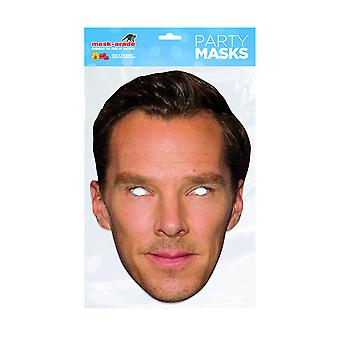 Mask-arade Benedict Cumberbatch Celebrities Party Face Mask