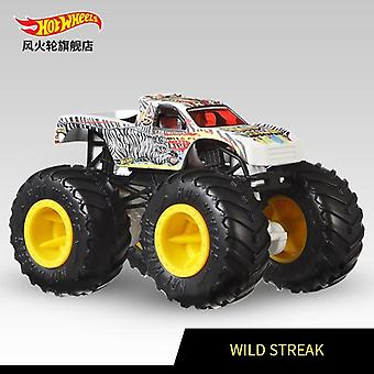 Hot Wheels Monster Trucks, Giant Wheels Big Foot Metal Car Jucărie