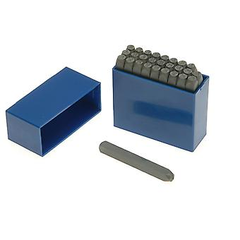 Priory 181- 12.0mm Set of Letter Punches 1/2in PRIL12