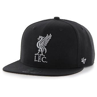 47 fire Snapback Cap - FC Liverpool black / grey