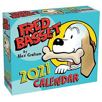 Fred Basset 2021 DaytoDay Calendar by Alex Graham