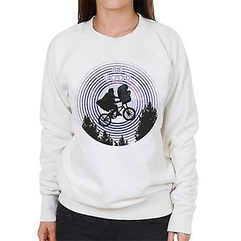 E.T. Ride In The Sky Be Good Women's Sweatshirt