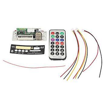 bluetooth MP3 Decoder Board Audio Receive Module Support U-Disk TF Card