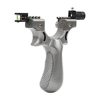 Big Power Gummiband, Slingshot High Precision Flachleder Professional Schnell