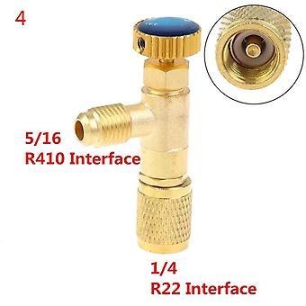 High Quality Liquid Safety Valve R410a R22 Air Conditioning Refrigerant 1/4