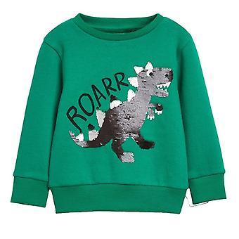 Kidsalon Boys Felpe Animali Modello Autunno Inverno Outwear Felpe