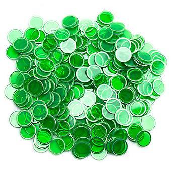 300パックグリーンマグネットビンゴチップ