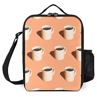 Big Coffee Cup Pattern-printed Lunch Bags
