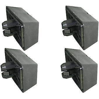 X4 Jacking Point Pad Unterstützung Lift Block Für Bmw Series 3 6 7 E63 E64 E65 X3