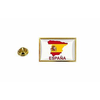 pine pine badge pine pin-apos;s land vlag kaart E Spanje