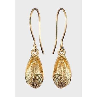 Brincos de Couvevala Flor de Neve Feminina Bronze 3682144K