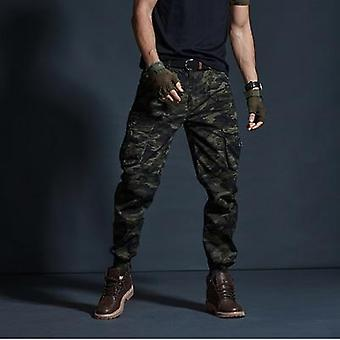 Casual Tactical, Multi-pocket Joggers, Camouflage Cargo, Trousers Pants
