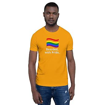 """""""bearded.. With Pride"""" Unisex T-shirt"""