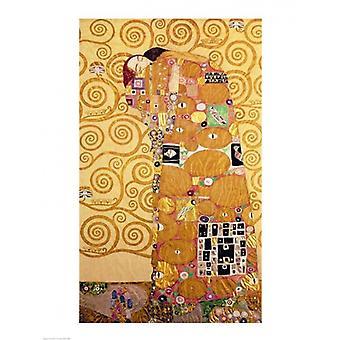 Печать плаката выполнение Густава Климта