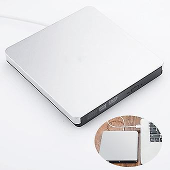 Dvd Drive Usb 3.0 Optical Player Burner Reader Cd-rw Portable External Recorder