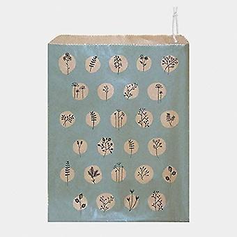 Osten von Indien Strung Papier Geschenk Taschen Ente Ei blau Hecke Weihnachtstaschen x 45