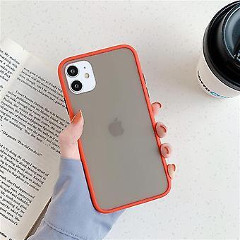Støtsikker myk silikon mynte hybrid enkel matt støtfanger telefonveske for Iphone