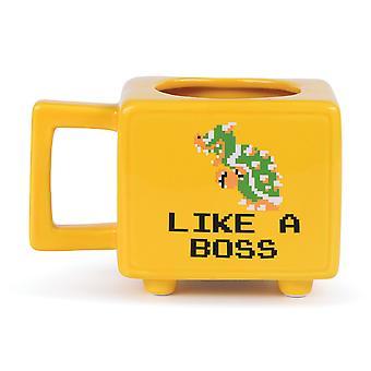 Super Mario Like A Boss Heat Changing Mug
