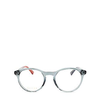 グッチ GG0406O グレー 男性眼鏡