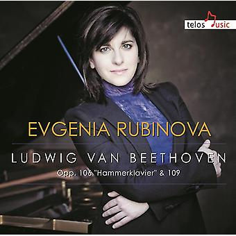 Beethoven / Rubinova - Sons [CD] USA import