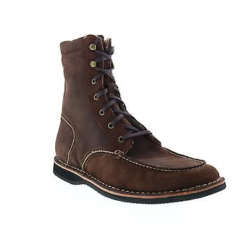 Andrew Marc Dorchester Sherpa  Mens Brown Suede Casual Dress Boots