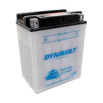 Dynavolt CB14B2 High Performance Battery With Acid Pack
