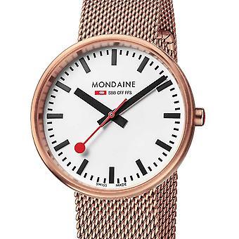 Ladies Watch Mondaine A763.30362.22SBM, Quartz, 35mm, 3ATM