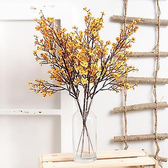 Gypsophila konstgjorda blommor gren hög kvalitet andas lång bukett hem