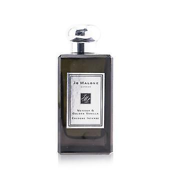 Jo Malone Vetiver & Golden Vanilla Colonia Spray Intenso (Originalmente Sin Caja) 100ml/3.4oz