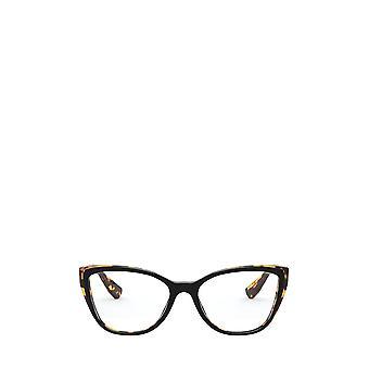 Miu Miu MU 04SV top musta / vaalea havanna naisten silmälasit