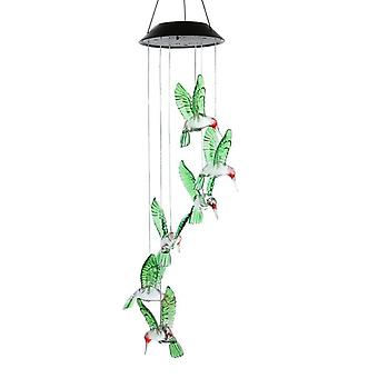 Dreamcatcher kleur veranderende led zonne wind chime kolibrie