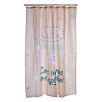 Duschdraperi Dekodonia Canta Polyester (180 x 200 cm)