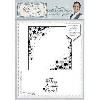 Sentimentally Yours Blossom Small Square Frame Someone Special Pre Cut Stamp Set 2
