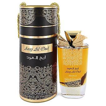 Areej Al Oud Eau De Parfum Spray (Unisex) By Rihanah 3.4 oz Eau De Parfum Spray