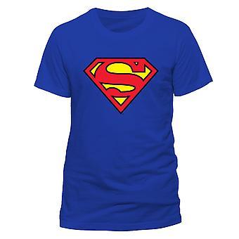 Superman Unisex Adultes Logo T-Shirt