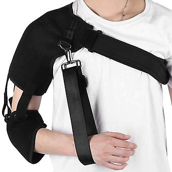 Adjustable arm shoulder sling elbow support immobilizer breathable wrist elbow forearm support strap injury sprain arm protector
