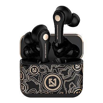 Bt5.0 écouteurs sans fil auto appariement bouton de contrôle du bruit hifi