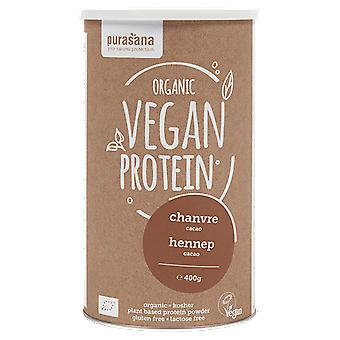 Purasana Hamppuproteiini 50% Orgaaninen kaakao 400 gr