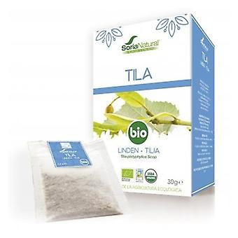 Soria Natural Tila Infusión Bio 20 filtros