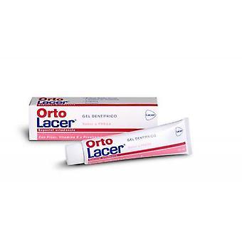 Lacer Ortolacer Gel Dentrifico Fresa Laminado 75 ml