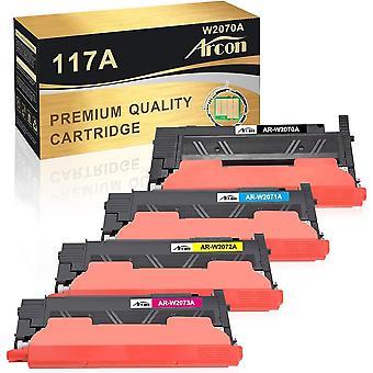 Wokex Kompatibel fr HP 117A Toner Cartridge Replacement fr HP 117A W2070A W2071A W2072A W2073A Toner