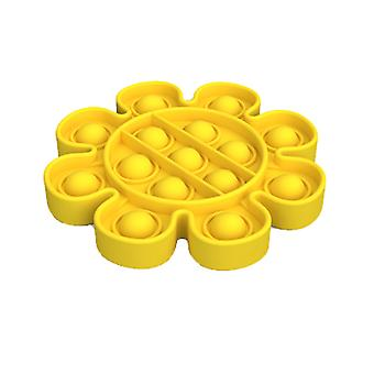Bloem vorm Pop Bubble Stress Push Bubble It sensorisch speelgoed voor autisme kind