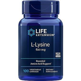 Prolongation de la durée de vie utile L-Lysine 620mg Vegicaps 100