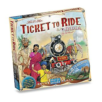 Ticket To Ride India + Switzerland Board Game