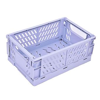 Foldable Plastic Storage Basket