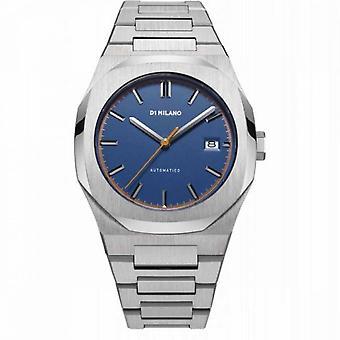 Klocka D1 Milano ATLAS Automatisk - Silver Dial - 41,5 mm - ATBJ04
