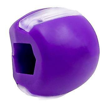 Ansikts fitness ball kjeve og nakke toning exerciser utstyr