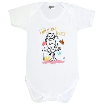 Looney Tunes Boys Little But Loud Taz Babygrow