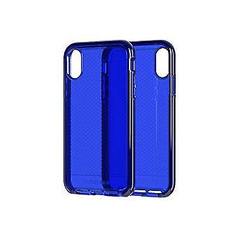 Tech21 Evo Check Protective Case for Apple iPhone XR - Midnight Blue